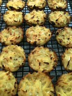 Potato Latke Muffins: My Favorite Passover Recipe-love that you can make ahead and reheat