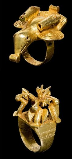 Ghana | Rings from the Asante people