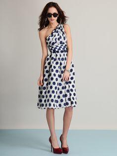still in love with this bensoni polka dot dress