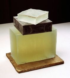 Rachel Whiteread, Untitled (2007-08). plaster, pigment, resin and bronze