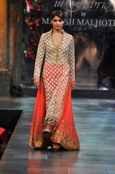 Parvathy Omanakuttan in Manish Malhotra on IndianWeddingSite.com