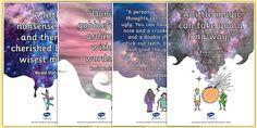 Roald Dahl Quotes Display Posters - display posters, roald dahl, roald dahl quotes, roald dahl display posters, quotes display posters, display, posters