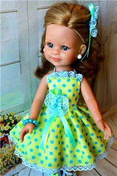 Комплект в горошек для Паолок / Одежда для кукол / Шопик. Продать купить куклу / Бэйбики. Куклы фото. Одежда для кукол