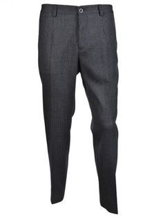 DOLCE & GABBANA Dolce & Gabbana Prince Of Wales Check Trousers. #dolcegabbana #cloth #trousers