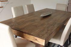 Elm Wood Kitchen Table
