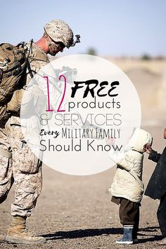 Discounts are great, but who doesn't love getting a product or service for free? Many businesses pride themselves on their military discounts, but some offer products or services that are free for active military personnel and their families. Military Deployment, Military Girlfriend, Army Mom, Army Life, Military Personnel, Military Spouse, Military Families, Military Relationships, Navy Military