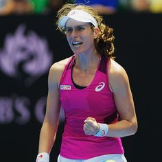 Powerful! Unseeded Johanna Konta makes the Australian Open semifinals! #kerbernext