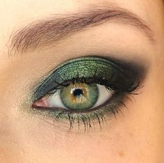 Green Eye  LOVE THIS, and it's super easy!