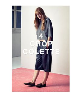 The year's new length: trousers and skirts that end just below the knee. www.ginatricot.com