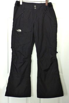 NWOT The North Face Women's Freedom LRBC Black Pant HyVent Snowboard/Ski Small  #TheNorthFace