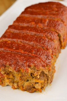 Slimming Eats Beef and Sweet Potato Meatloaf - gluten free, dairy free, paleo, Slimming World and Weight Watchers friendly paleo crockpot meatloaf Gluten Free Meatloaf, Meatloaf Recipes, Beef Recipes, Cooking Recipes, Healthy Recipes, Savoury Recipes, Budget Cooking, Paleo Food, Shrimp Recipes