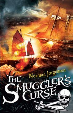 The Smuggler's Curse by NORMAN  JORGENSEN -- Middle Grade (older readers) novel -- Red Read's life takes a surprising – and alarming – turn when his mother sells him to an infamous smuggler plying his trade off the north-west coast of Australia in the closing days of the 19th century.