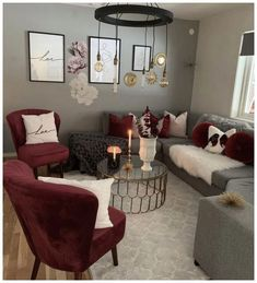 Maroon Living Room parts can add a contact of fashion and design to any residence. Maroon Living Room can imply many things to many individuals, but all of them… Burgundy Living Room, Living Room Grey, Red Living Rooms, Living Room Ideas Red And Grey, Living Room Ideas For Couples, Grey Living Room Inspiration, Burgundy Bedroom, Living Room Themes, Living Room Goals