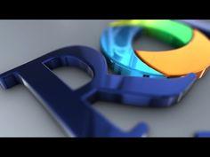 Logo Animation for Roland Financial 3d Logo, Text Style, Motion Graphics, Presentation, Animation, Logos, Iron, Youtube, Irons