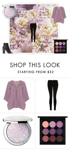 """""""Pacifistic purple"""" by ash-nz ❤ liked on Polyvore featuring Isolde Roth, Current/Elliott, Guerlain, MAC Cosmetics, purple, black, soft and pacifistic"""