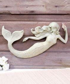 Look at this Sea Beauty Mermaid Wall Art on #zulily today!