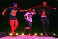 dance, savion glover, tappin in out on stage, memories from broadway dance center