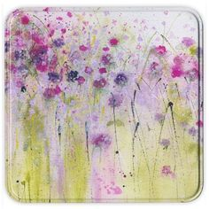 Wild Violets Notelets at Whistlefish - handpicked contemporary & traditional art that is high quality & affordable. Quirky Decor, Collage, Watercolor Paintings, Flower Paintings, Watercolors, Different Flowers, Abstract Flowers, Antique Art, Little Gifts