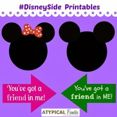 Atypical Familia (in AutismWonderland): How To Make a #DisneySide Photo Booth (with FREE Printables)