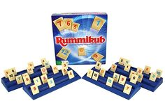 rummikub - she loved to play this