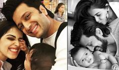 Bollywood star couple Actor Riteish Deshmukh and wife Genelia D'Souza , proudly turned to parenthood for another time. The couple was blessed with a baby boy this morning. This is couple's second child.