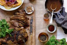 Leg of Lamb with Moroccan Spices from Leite's Culinaria