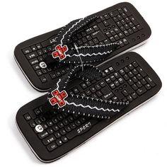 Keyboard flip-flops