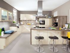 Elegant Flash Ivory high gloss Palazzo kitchens u Appliances nobilia K chen kitchens nobilia