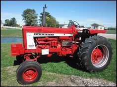 Used Tractors for sale by John Deere, Farmall, Ford, Case, Massey Ferguson and many others. Old John Deere Tractors, Farmall Tractors, Red Tractor, Old Ford Trucks, Lifted Chevy Trucks, Pickup Trucks, International Tractors, International Harvester, Antique Tractors