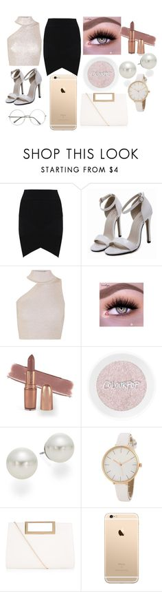A fashion look from April 2017 featuring mock turtleneck, high-waist skirt and white sandals. Cushnie Et Ochs, Anne Klein, New Look, Idol, Polyvore, Fashion, Moda, Fashion Styles, Fashion Illustrations