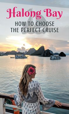 Halong Bay, Vietnam: How to Choose the Perfect Cruise. Halong Bay has been named a Unesco World Heritage Site for its amazingly beautiful landscape. If you're planning a trip to Vietnam don't miss you opportunity to cruise through the limestone cliffs and islands that make up this wonder of the natural world.  By Wandering Wheatleys (@wanderingwheatleys) #HalongBay #Vietnam #Cruise #CruiseShip #TravelGuide #WanderingWheatleys #Unesco #7Wonders
