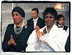 Leontyne Price and Cicely Tyson at Oprah Winfrey's Legends Weekend 2005, honoring twenty-five African American women in art, entertainment, and civil rights. The one hour program aired on ABC-TV, May 22, 2006, a year after the celebration.