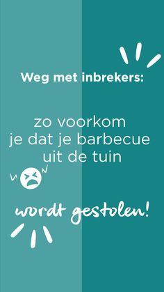 Dieven zijn er in de lente- en zomermaanden dol op: de barbecue. Om te voorkomen dat je barbecue in rook opgaat, hebben wij een aantal tips voor je. | How to keep your grill from being stolen? | #ehet #eigenhuisentuin #decoratie #decoration #inspiratie #inspiration #interieur #interior #styling #barbecue #bbq #tuin #garden #tips #stolenbarbecue | Eigen Huis & Tuin Calm
