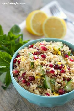 Okay, I know it's January and it's as cold as the North Pole outside (seriously…it's -31 degrees Celsius as I type this!), but all I'm craving lately is fresh food with bright, summery flavours! And when I found out that our #FoodieMamas recipe roundup theme this month is couscous, I knew I had to create...