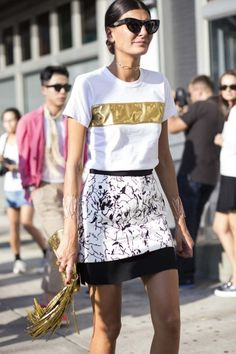 Street style from New York fashion week spring/summer '15 gallery - Vogue Australia