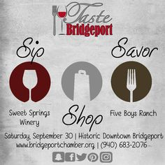 Friday night means, Friday night with Five Boys Ranch Restaurant & Catering! Swing by, say hi, and try some Sweet Springs Winery!! They pair nicely together!!   #tastebridgeport #bridgeporttx #decaturtx #wisecountytx #chamberofcommerce #economicdevelopment #mainstreet #parksandrecreation #foodie #shopping #wine #historicaldowntown #texasmainstreetcity