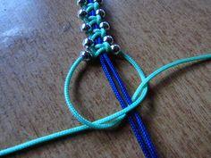 Creative Ideas CreativeIdeas AmazingCreativeIdeas - Her Crochet Beaded Wrap Bracelets, Braided Bracelets, Paracord Bracelets, Macrame Bracelets, Macrame Bracelet Patterns, Macrame Jewelry, Bracelet Crafts, Jewelry Crafts, Bracelet Making