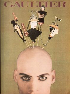 Vintage Jean Paul Gaultier ad