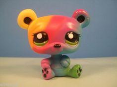 Littlest Pet Shop New Rainbow Panda #2584 WANT BUT DO NOT HAVE! WANT!