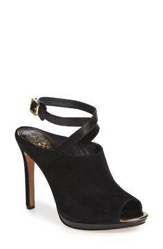 'Resina' Peep Toe Mule (Women)