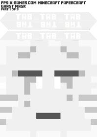 I've put together a printable template to create your own Minecraft Ghast mask. This mask comes in two versions; Minecraft Mask, Minecraft Costumes, Minecraft Birthday Party, Boy Birthday, Birthday Ideas, Printable Masks, Printables, Geek Room, Mask Template