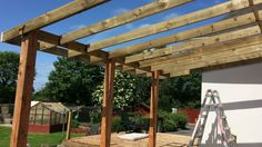 Pergola, Deck, Backyard, Outdoor Structures, Home, Patio, House, Outdoor Pergola, Front Porches
