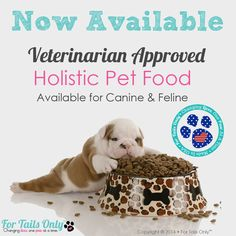 Look what we released today! Eight dog formulas are ready for you to choose from!!! Get yours at www.fortailsonly.com/fluffnfur