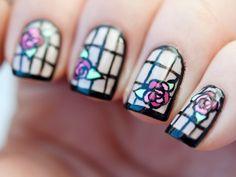 Top 20 funny nail art ideas for every taste Great Nails, Cool Nail Art, Art Deco Nails, Caviar Nails, Nailart, Deco Rose, Nail Lacquer, Finger, Nail Art Blog