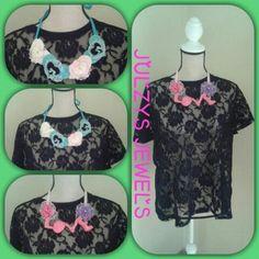 Fabric  jewellery