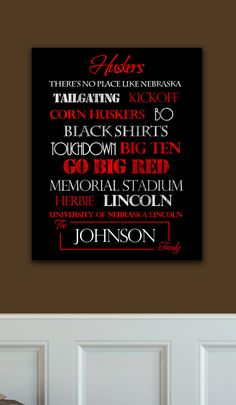 Need to make one of these!!    Nebraska Huskers!! <3