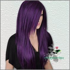 purple hair! I Want!!! ;)