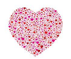 hojas decoradas para imprimir de corazones - Buscar con Google