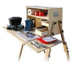 homemade camp kitchen - Buscar con Google