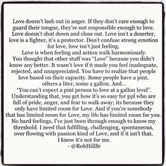 Love doesn't lash out in anger